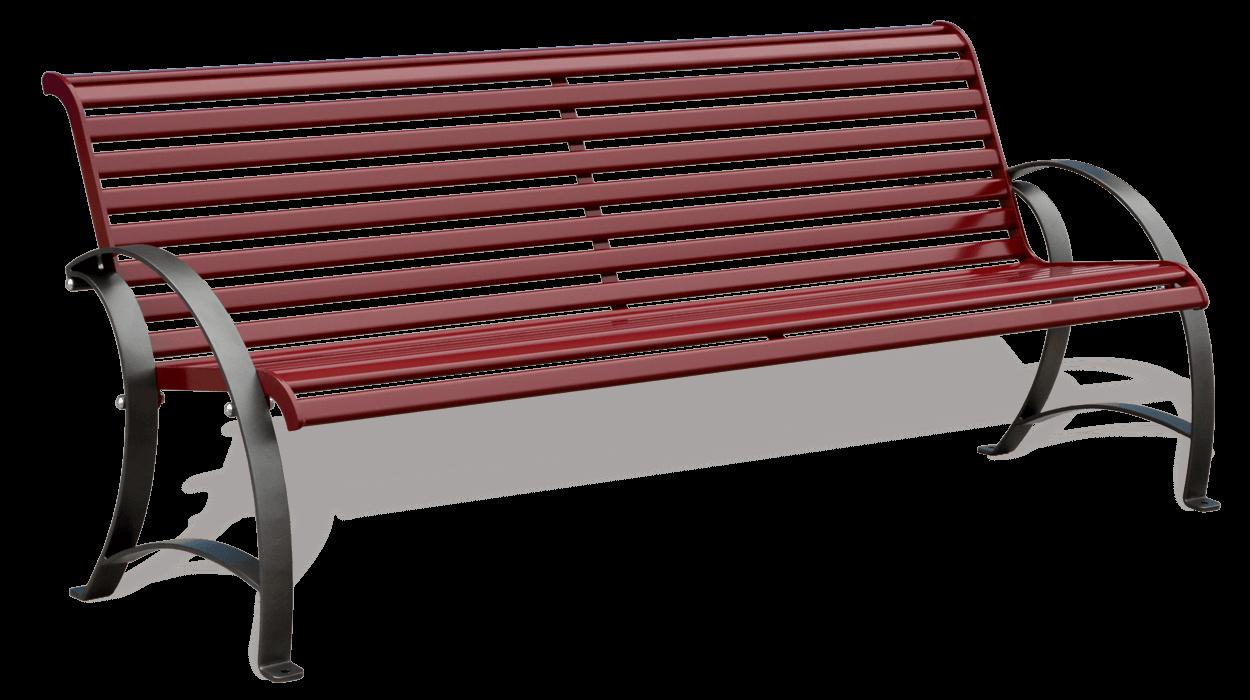 Panchina arredo urbano modello artemide realizzata in for Dimcar arredo urbano