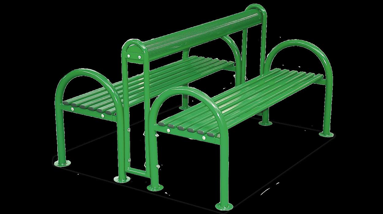 Panca per arredo urbano realizzata in acciaio e composta for Panca arredo