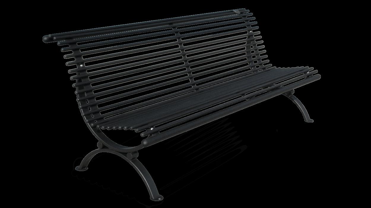 Panchina realizzata in acciaio zincato per arredamento for Dimcar arredo urbano