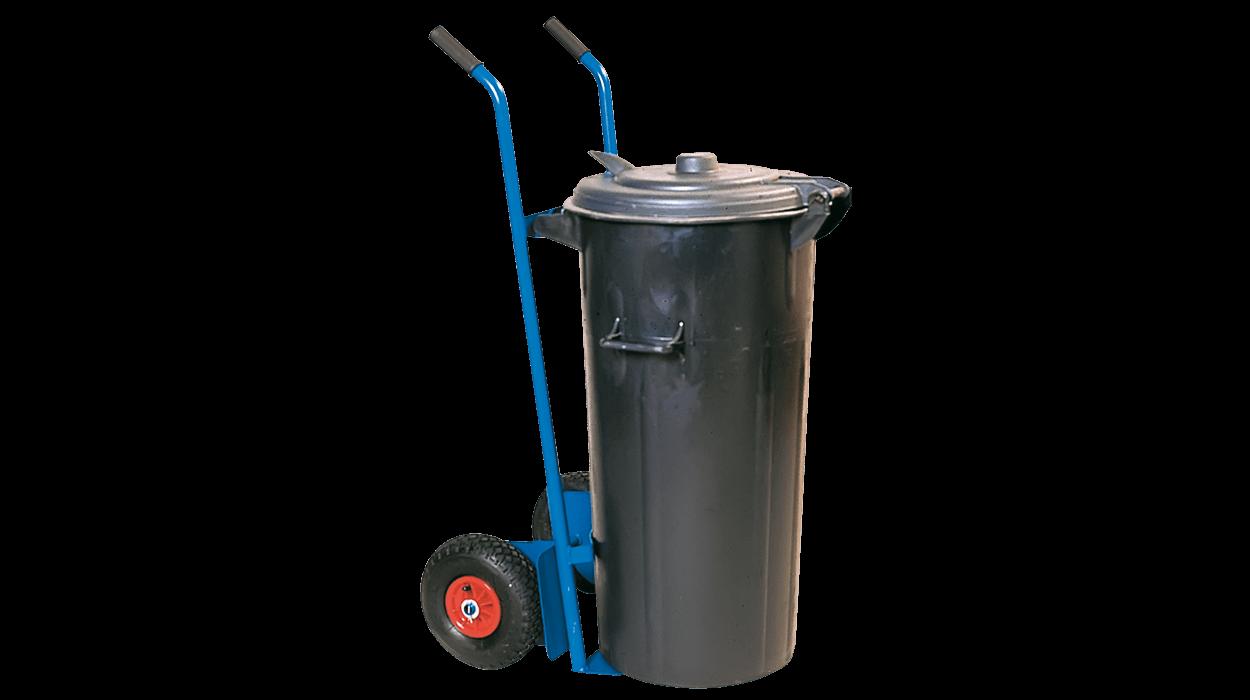 Carrello in metallo per il trasporto di contenitori per for Dimcar arredo urbano