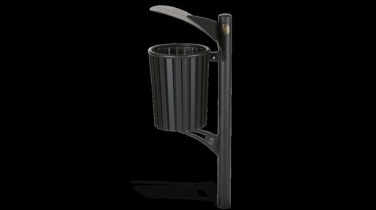 Cestino per la raccolta dei rifiuti per arredo urbano in for Dimcar arredo urbano