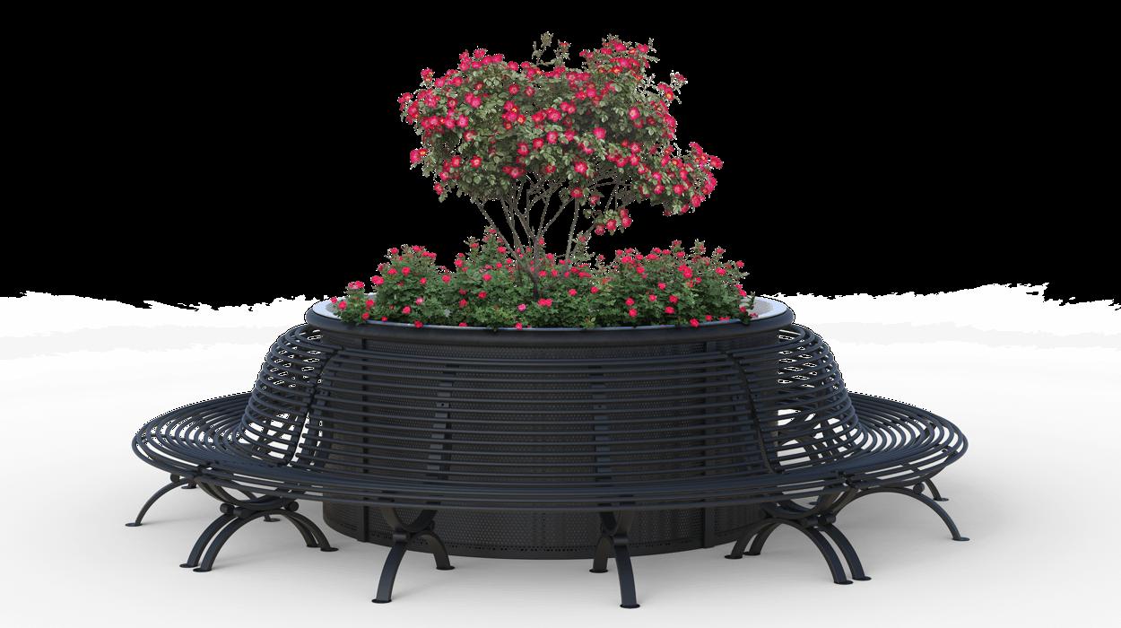 Fioriera per arredo urbano modello clematis grand bouquet for Dimcar arredo urbano