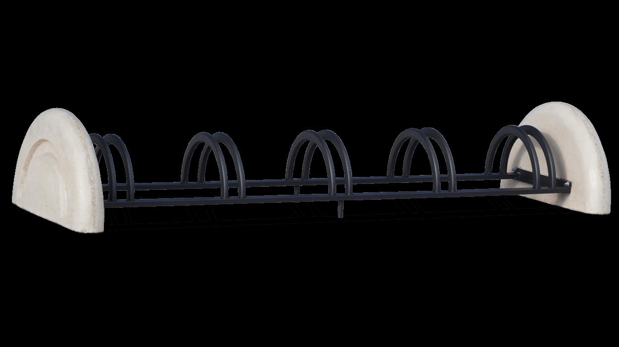Rastrelliere per biciclette con struttura in metallo for Dimcar arredo urbano