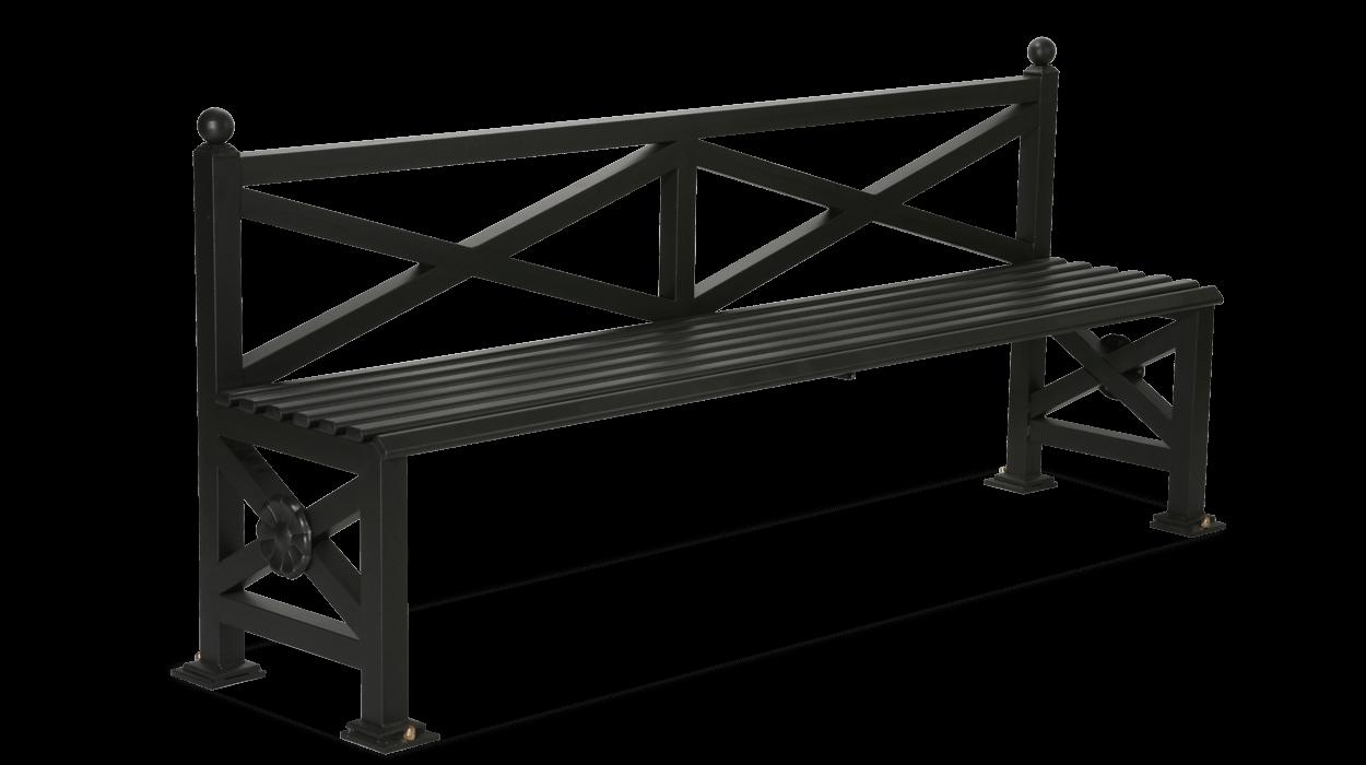 Panchina realizzata in acciaio zincato per arredo urbano for Dimcar arredo urbano