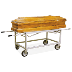 Coffin trolley