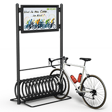 Bicycle Stands Elix Display
