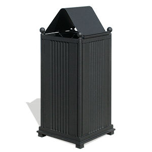 Large Trash Bin Sassari with lid