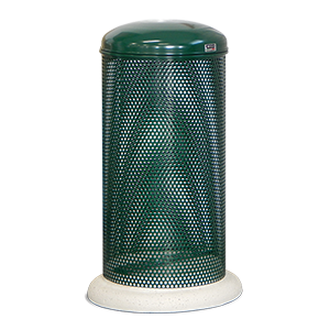 Large Trash Bin Eden with lid