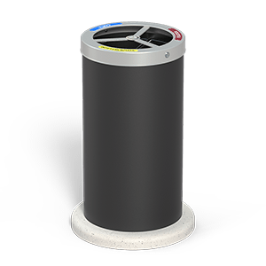 Elios large trash bin with CLS basement, code 377-CLS