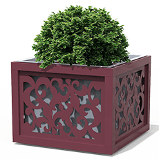 Lily flower box