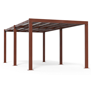 Living pergola with shading towel, code 816-T