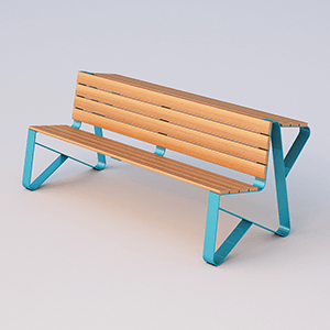 Bel bench with lumbar seat