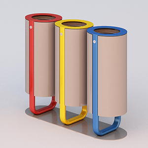 Diapason litter bin tris model